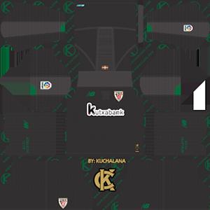 Athletic Bilbao goalkeeper home kit 2019-2020 dream league soccer