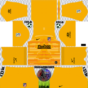 Atletico Madrid gk away kit 2019-2020 dream league soccer