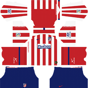 Atletico Madrid Kits 2019/2020 Dream League Soccer