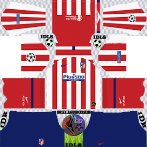 Atletico Madrid UCL home kit 2019-2020 dream league soccer
