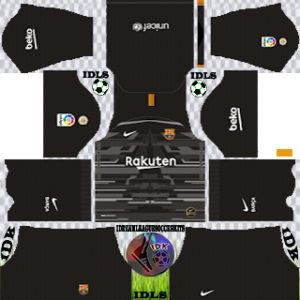 Barcelona GoalKeeper Fourth Kit 2019-2020