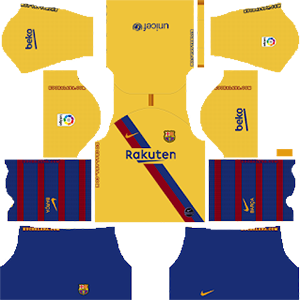 Barcelona away kit 2019-2020 dream league soccer
