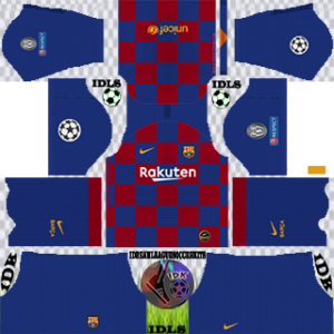 Barcelona UCL home kit 2019-2020 dream league soccer