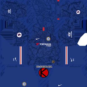 Chelsea home kit 2019-2020 dream league soccer