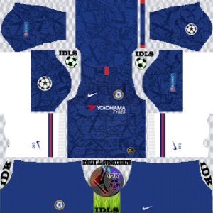 Chelsea UCL home kit 2019-2020 dream league soccer