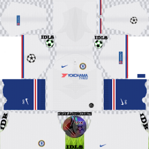 Chelsea UCL away kit 2019-2020 dream league soccer