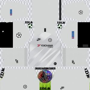 Chelsea UCL gk away kit 2019-2020 dream league soccer