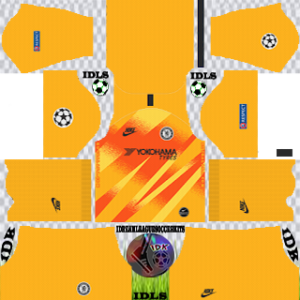 Chelsea UCL gk home kit 2019-2020 dream league soccer