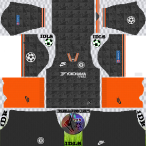 Chelsea UCL third kit 2019-2020 dream league soccer
