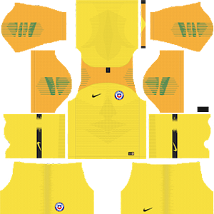 Chile Copa America 2019 goalkeeper away kit dream league soccer