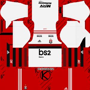 Flamengo away kit 2019-2020 dream league soccer