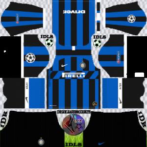 Inter Milan ucl home kit 2019-2020 dream league soccer