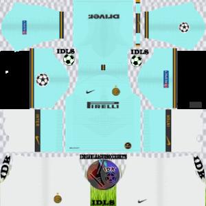 Inter Milan ucl away kit 2019-2020 dream league soccer