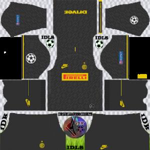 Inter Milan ucl third kit 2019-2020 dream league soccer