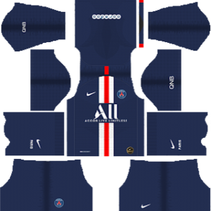 Paris Saint-Germain (PSG) Kits 2019/2020 Dream League Soccer