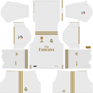 Real Madrid Kits 2019/2020 Dream League Soccer