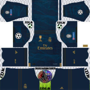 Real Madrid UCL away kit 2019-2020 dream league soccer