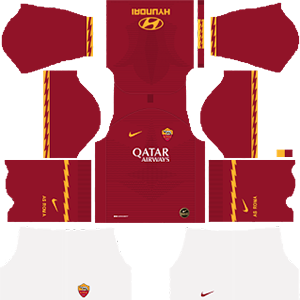 As Roma Kits 2019 2020 Dream League Soccer