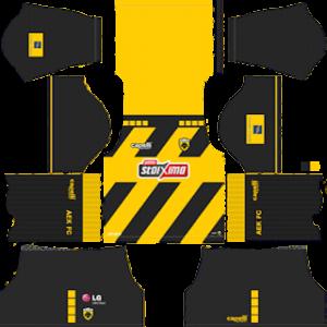 AEK FC Kits 2019/2020 Dream League Soccer