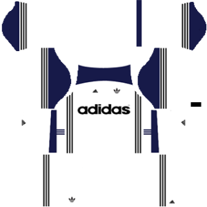 All Adidas kits and Adidas logo for Dream League Soccer 2020