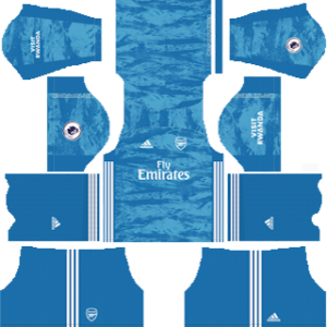 Arsenal gk home kit 2019-2020 dream league soccer