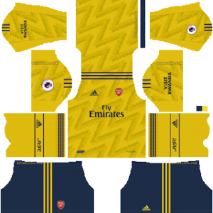 Arsenal away kit 2019-2020 dream league soccer
