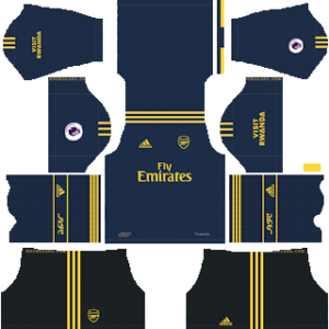 Arsenal third kit 2019-2020 dream league soccer