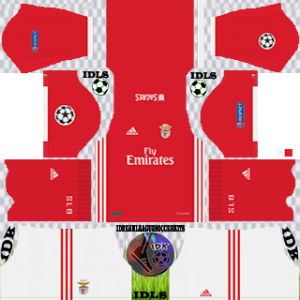 Benfica UCL home kit 2019-2020 dream league soccer