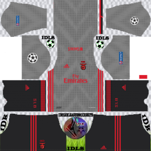 Benfica UCL away kit 2019-2020 dream league soccer