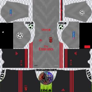Benfica UCL away kit 2019-2020 dream league soccer