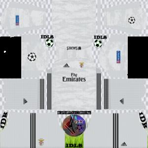Benfica UCL gk home kit 2019-2020 dream league soccer