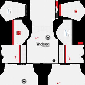 Eintracht Frankfurt away kit 2019-2020 dream league soccer