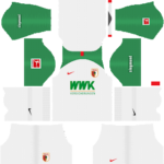 FC Augsburg Kits 2019/2020 Dream League Soccer