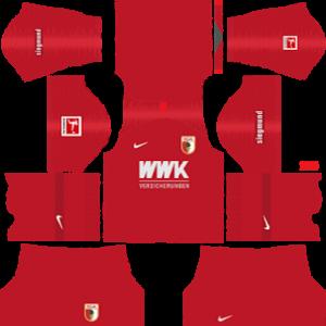 FC Augsburg third kit 2019-2020 dream league soccer