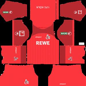 FC Koln away kit 2019-2020 dream league soccer