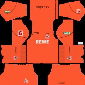 FC Koln gk home kit 2019-2020 dream league soccer