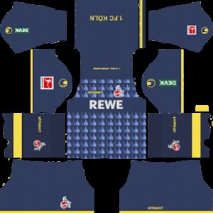 FC Koln third kit 2019-2020 dream league soccer