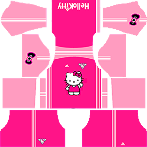Hello Kitty Kit 2019 Dream League Soccer away