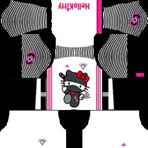 Hello Kitty Kit 2019 Dream League Soccer gk away