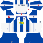 Hertha BSC Kits 2019/2020 Dream League Soccer