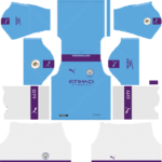 Manchester City Kits 2019/2020 Dream League Soccer