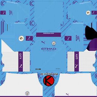 Manchester City Kits 2019 2020 Dream League Soccer