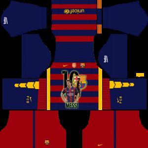 Messi Barcelona Kits 2019/2020 Dream League Soccer