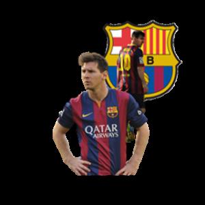 Messi Barcelona logo dls