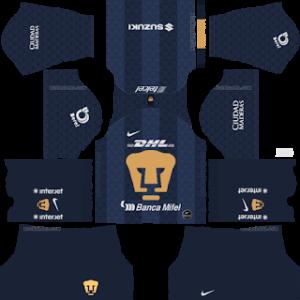Pumas UNAM away kit 2019-2020 dream league soccer