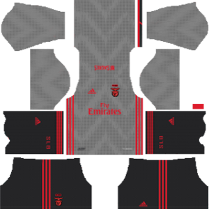S.L. Benfica away kit 2019-2020 dream league soccer