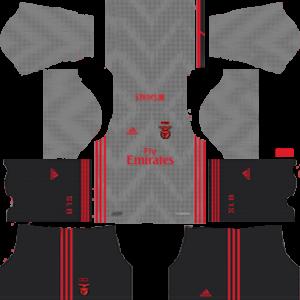 S.L. Benfica away kit 2019-2020 dream league soccer