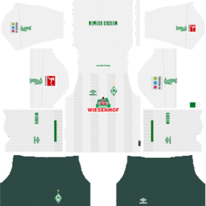 SV Werder Bremen away kit 2019-2020 dream league soccer