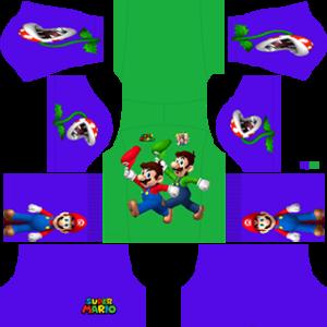 Super Mario gk home kit 2019-2020 dream league soccer