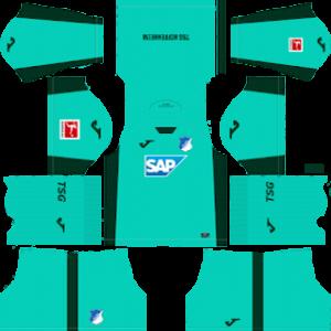 TSG Hoffenheim away kit 2019-2020 dream league soccer